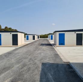 Installation de sanitaires pour l'aire d'accueil des gens du voyage de Boves (80440)