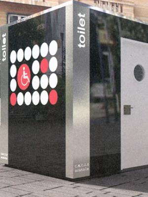 Installation préfabriqué de toilettes publiques à Rouen