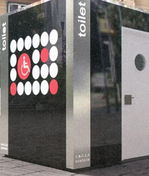 Installation préfabriquée de toilettes publiques à Rouen (76000)